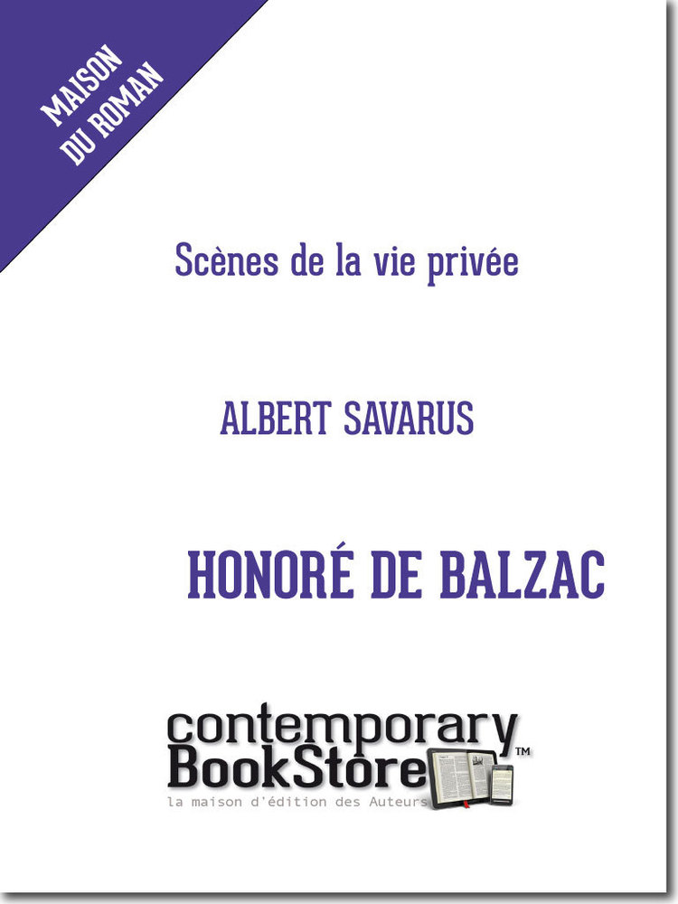 Albert Savarus- Honoré de Balzac